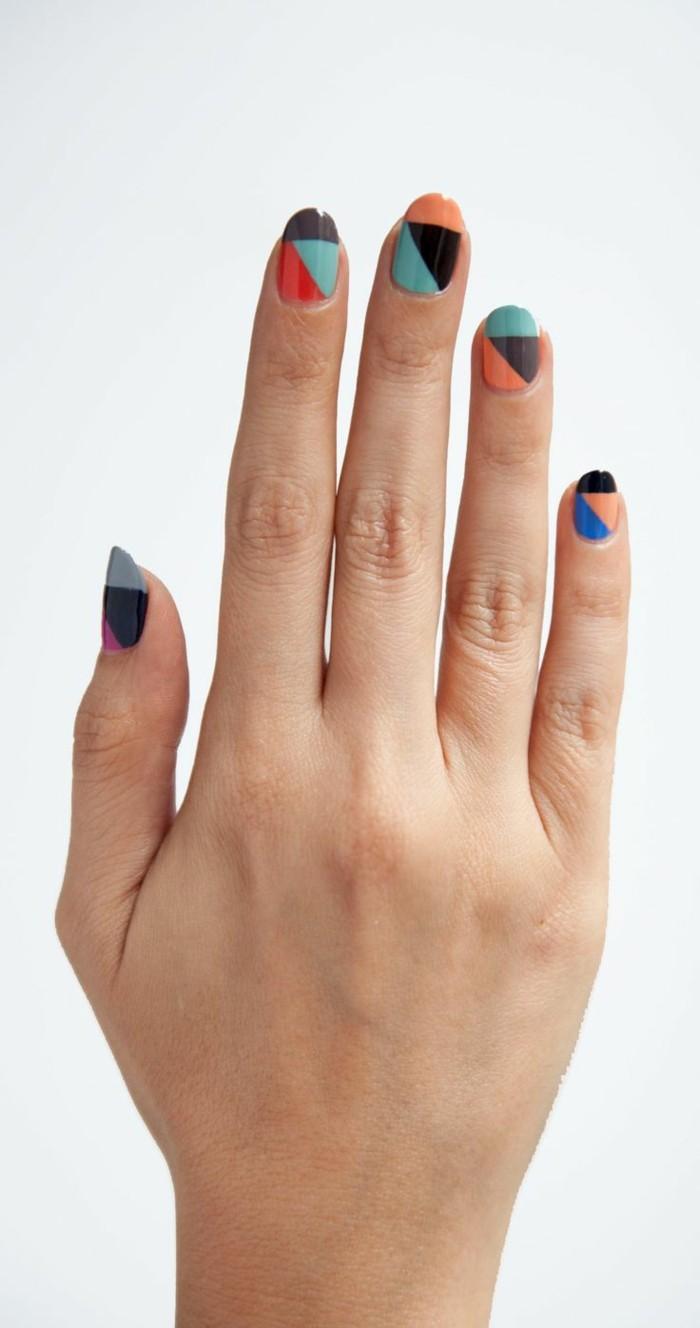 jolis-modele-ongle-gel-coloré-idee-deco-ongle-deco-ongle-gel-pour-les-femmes