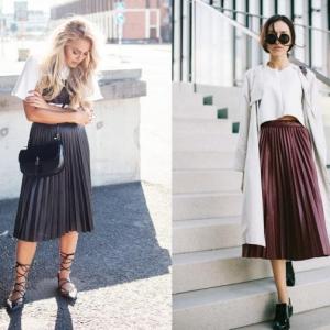 La jupe plissée - tenues modestes qui ne sont pas démodées