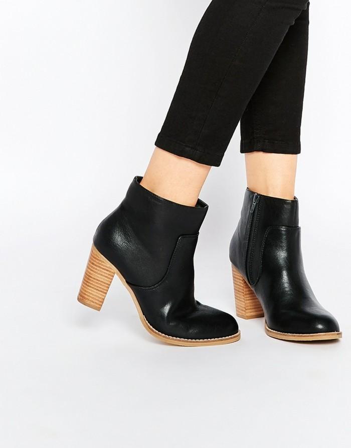 la-bottine-cuir-femme-bottines-plates-femme-stylé-cool