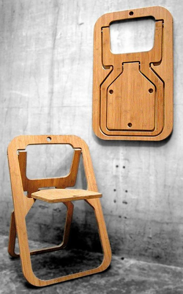 la-chaise-de-salle-à-manger-chaise-haute-pliante-cool-en-bois