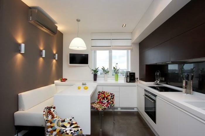 Am nager une petite cuisine 40 id es pour le design - Petite cuisine fonctionnelle ...
