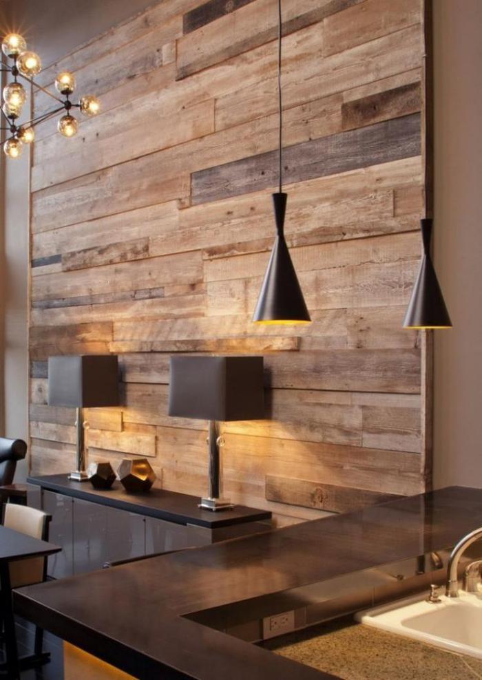 Applique Murale Chambre Bebe Fille : Le lambris mural – isolation, décoration et chic à la maison