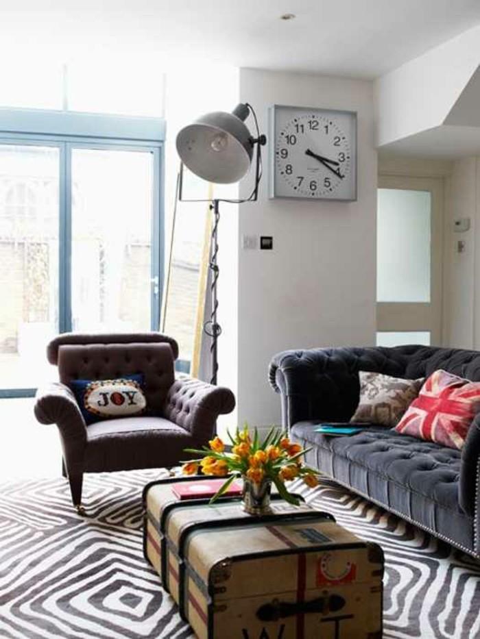 Un canap vintage pour votre salon moderne for Quel canape choisir pour un petit salon