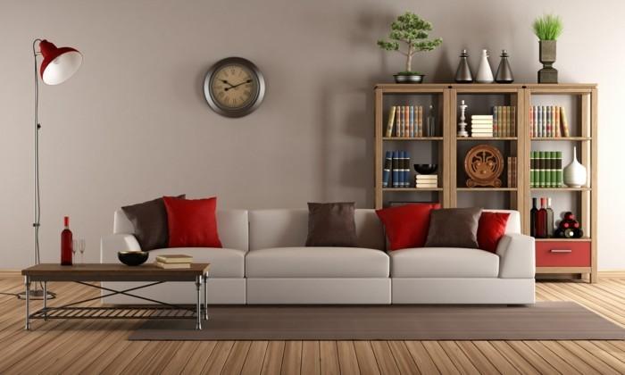 le-canape-scandinave-canape-vintage-marron-intérieur-moderne