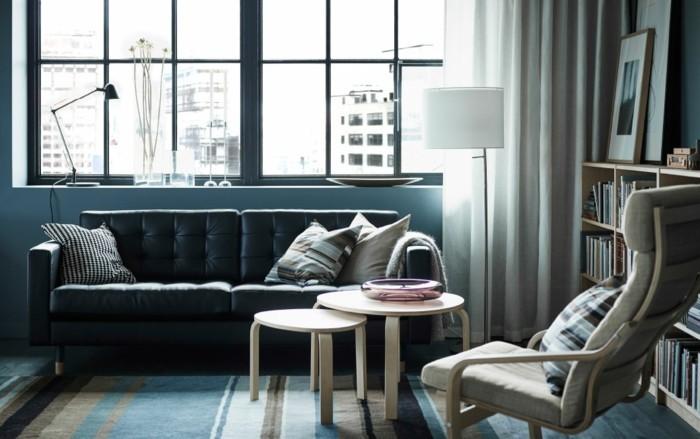le-fauteuil-design-scandinave-banquette-vintage-en-noir-fauteuil-annee-50-design-scandinave-vintage