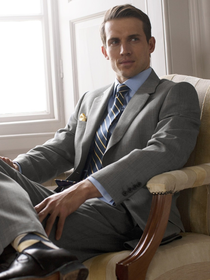 le-meilleur-costard-homme-pas-cher-costard-cravate-gris-homme-mode-tendances