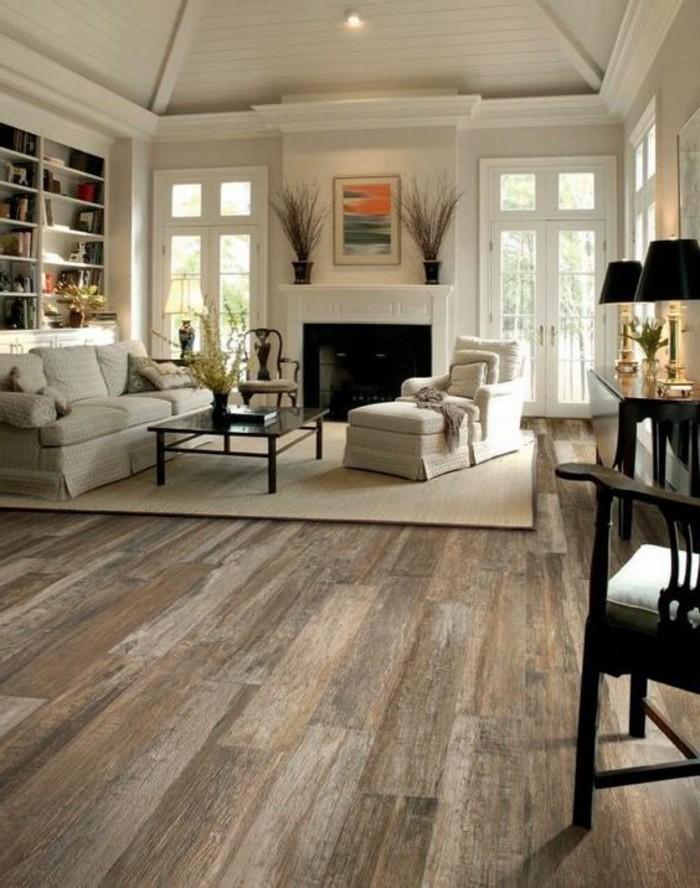 le-meilleur-salon-couleur-grège-sol-en-parquet-meubles-tapisserie-taupe