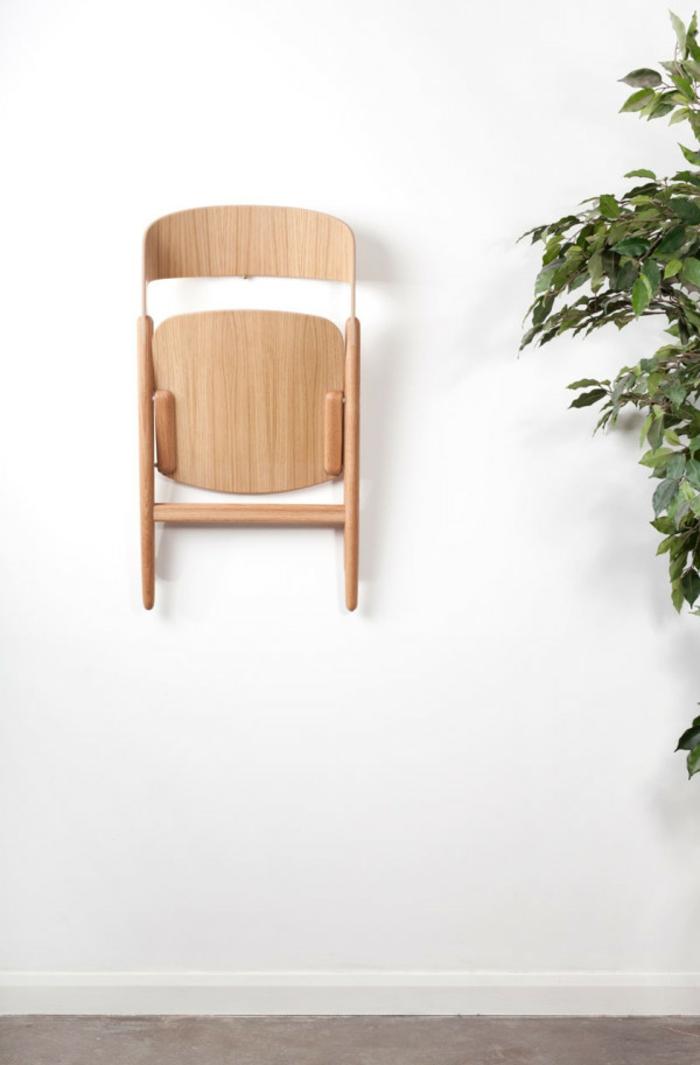 Uniques id es pour la d co avec la chaise pliante for Chaise de cuisine style bistrot