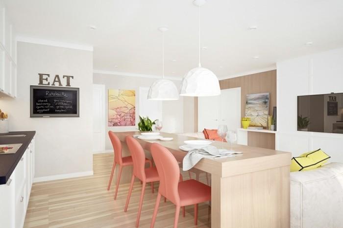 le-salon-moderne-en-corail-couleur-idee-deco-salon-table-grande