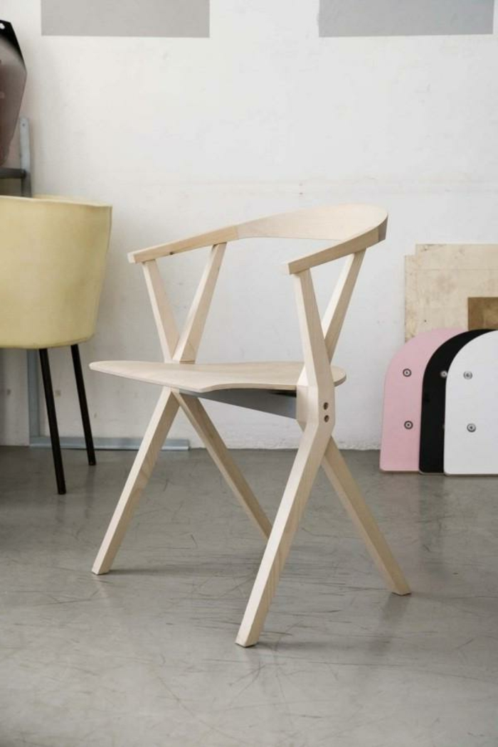 les-chaises-pliantes-chaise-salle-à-manger-table-et-chaise-de-cuisine-bois