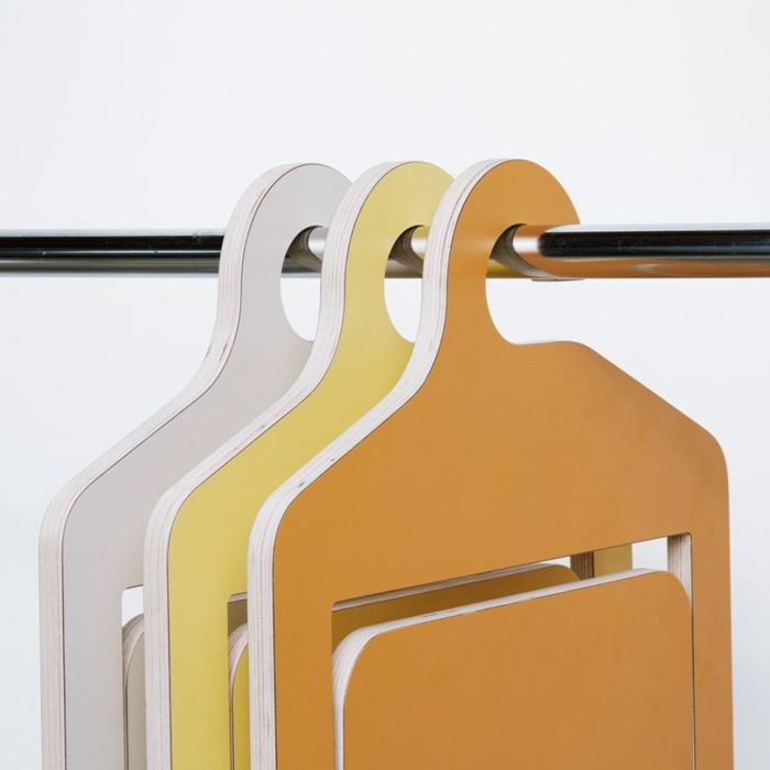 Uniques id es pour la d co avec la chaise pliante for Chaise pliante design salle a manger