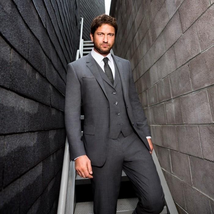 Le costume gris anthracite homme en 40 photos - Costume homme ete ...
