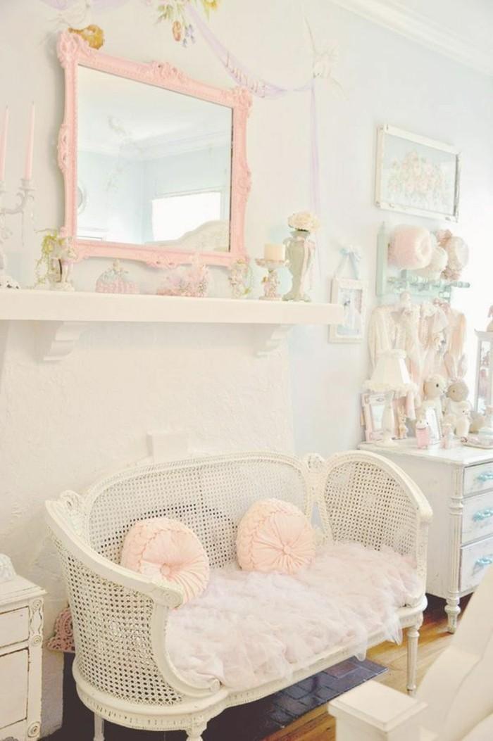 les-meubles-shabby-chic-deco-meuble-gustavian-tapisserie-kitch-dans-le-salon-retro-chic