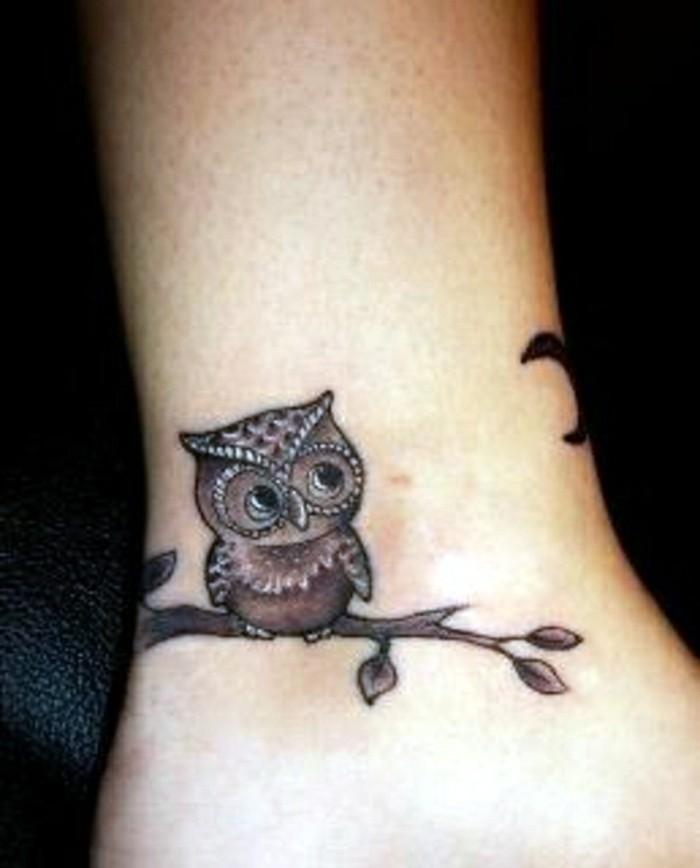 les-tatouages-poignet-tatouage-étoile-poignet-art-de-tattoo-hiboux