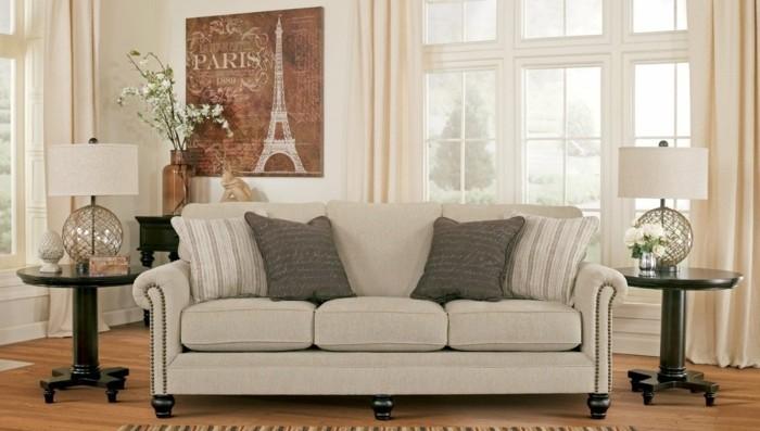 linea-sofa-canapé-lit-italien-pièce-principale-idées-blanc-et-beige-salon