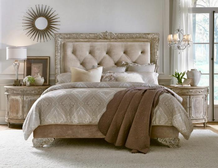 le lit baroque en 40 photos romantiques. Black Bedroom Furniture Sets. Home Design Ideas