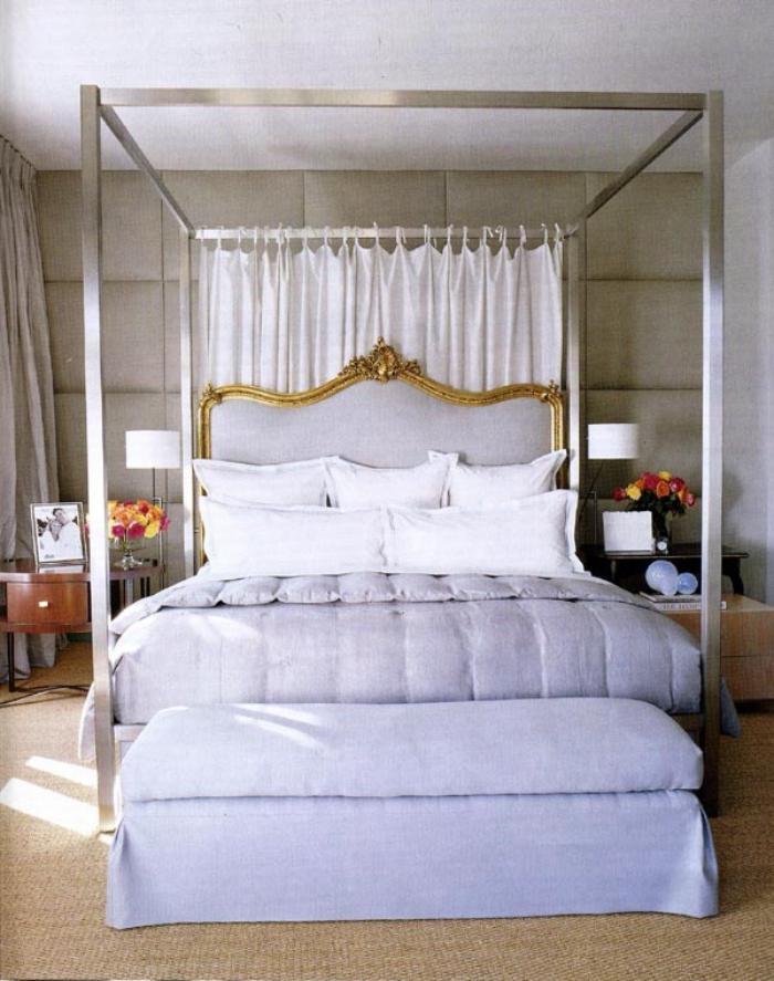 lit-baroque-chambre-à-coucher-vintage-tête-de-lit-shabby
