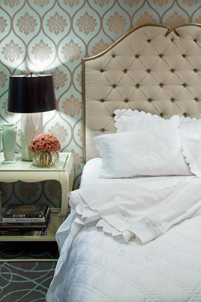 Le lit baroque en 40 photos romantiques for Chambre a coucher lit
