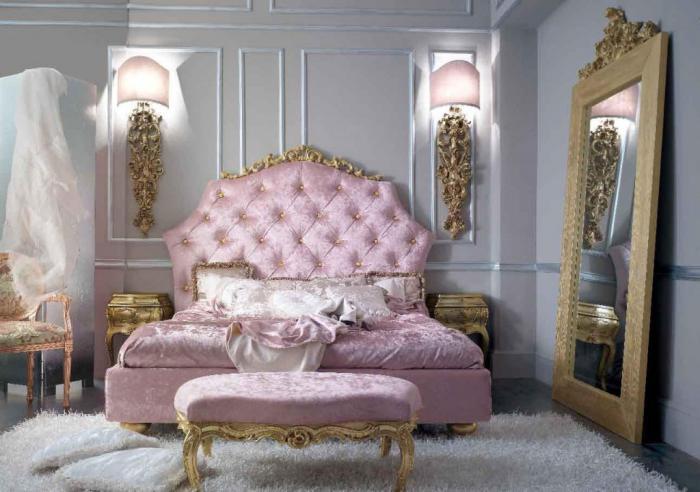 lit-baroque-meubles-baroques-intérieur-style-vintage