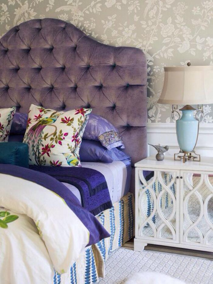 Le lit baroque en 40 photos romantiques for Lit pour chambre a coucher