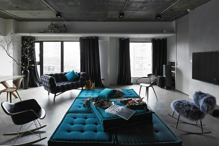 magnifique-canapé-taupe-canape-tissus-canape-chesterfield-vintage-bleu