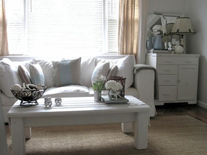 Le canap lin pour un salon styl en 45 images magnifiques - Canape en lin blanc ...