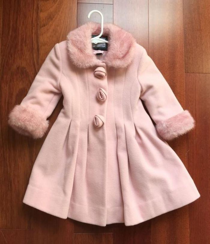 Joli manteau petite fille