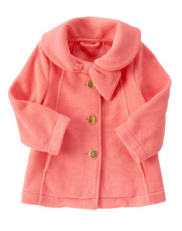 manteau-bébé-fille-manteau-bébé-rose