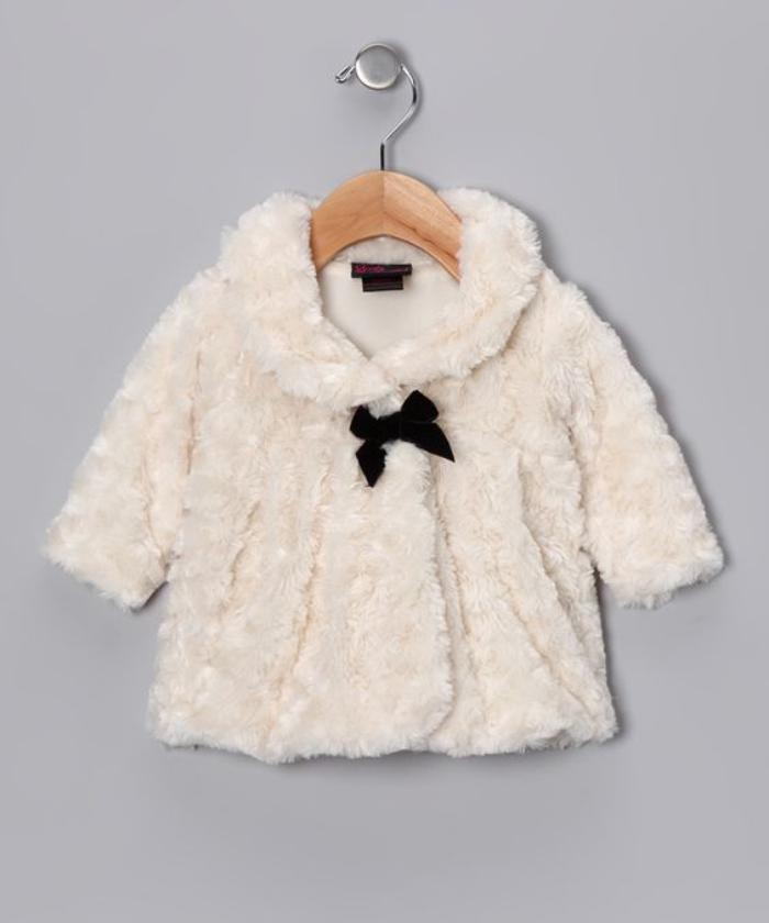 manteau-bébé-fille-manteau-blanc-en-fausse-fourrure