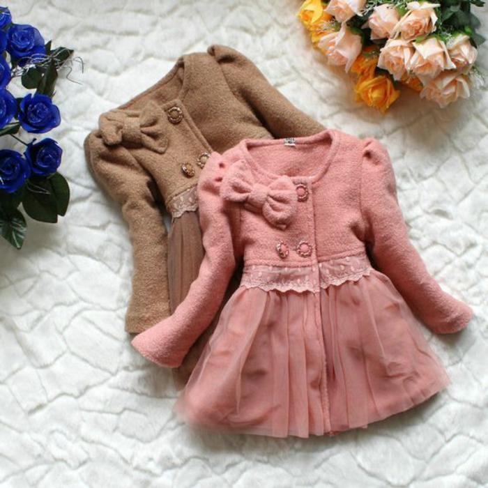 manteau-bébé-fille-modèles-coquets-de-manteaux-bébé