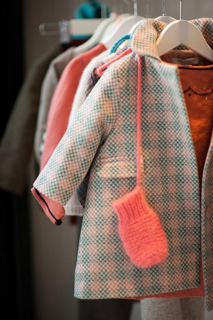 manteau-bébé-fille-super-stylé-modèle-classique