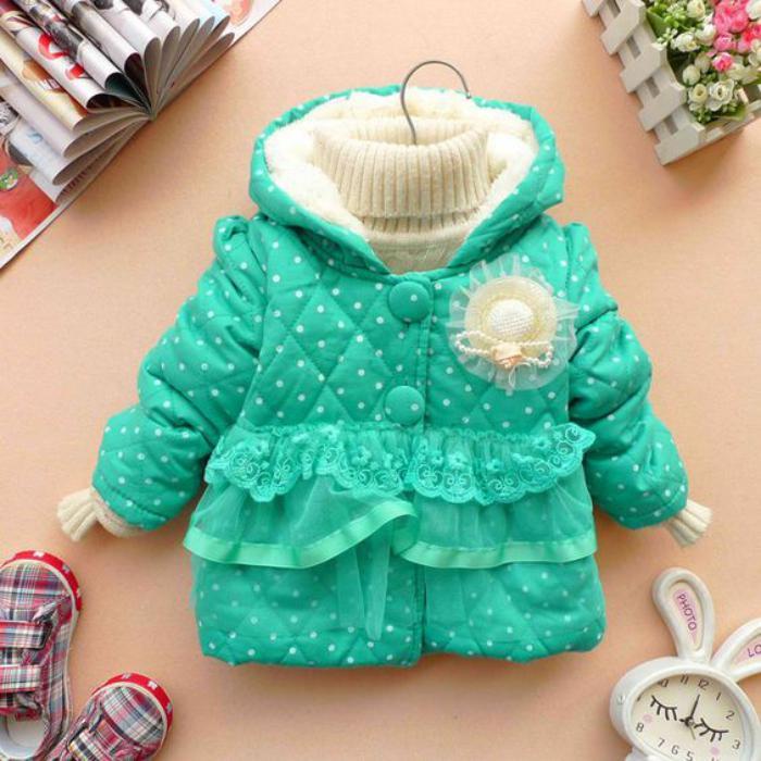 manteau-bébé-fille-vetements-bébé-sympas