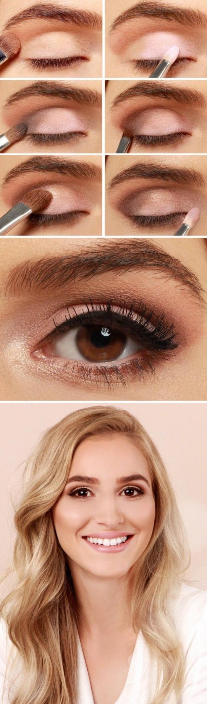 Maquillage yeux marrons facile fashion designs - Maquillage araignee facile ...