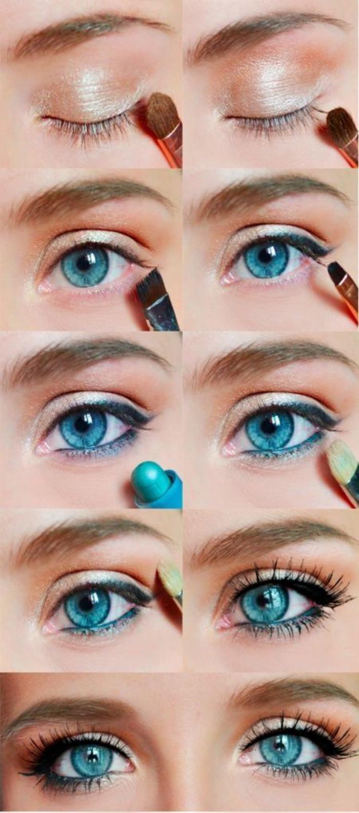 maquillage-simple-un-look-élégant-et-simple