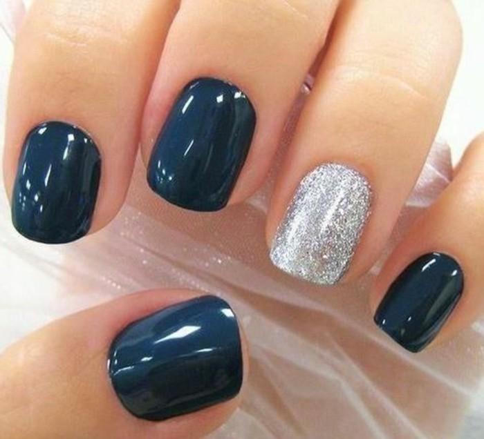 ongles-décorés-deco-ongle-gel-bleu-argent-deco-ongles-originaux-les-meilleures-variantes-pour-vos-ongles
