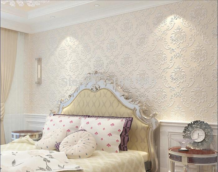 Sublimez vos int rieurs en mettant un papier peint blanc - Papier peint pour chambre a coucher ...