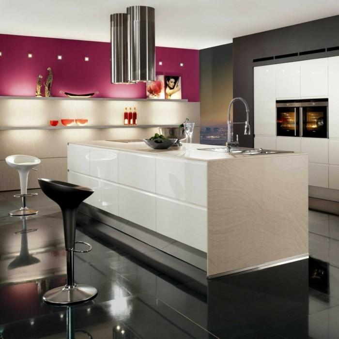 petits-espaces-aménager-une-petite-cuisine-astuces-plan-cuisine-ouverte-moderne