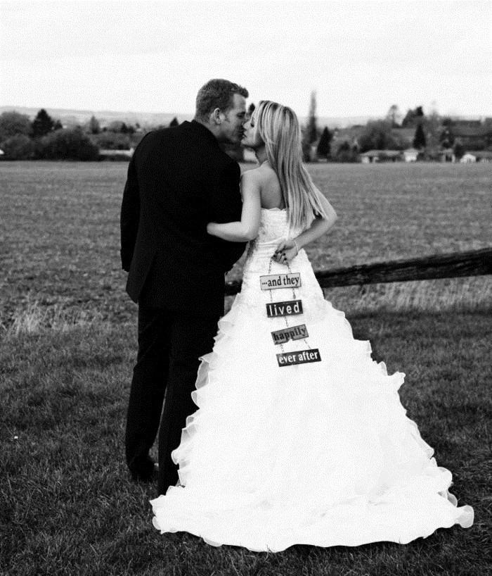 photos-mariage-originales-album-photo-mariage-original-just-married
