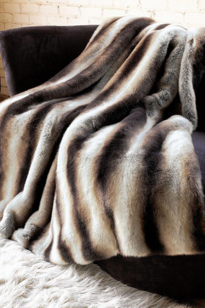 plaid-fausse-fourrure-couverture-originale-imitation-fourrure