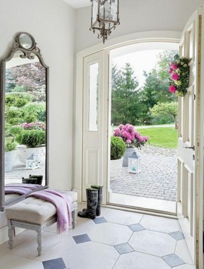 la porte d entr design en 40 photos. Black Bedroom Furniture Sets. Home Design Ideas