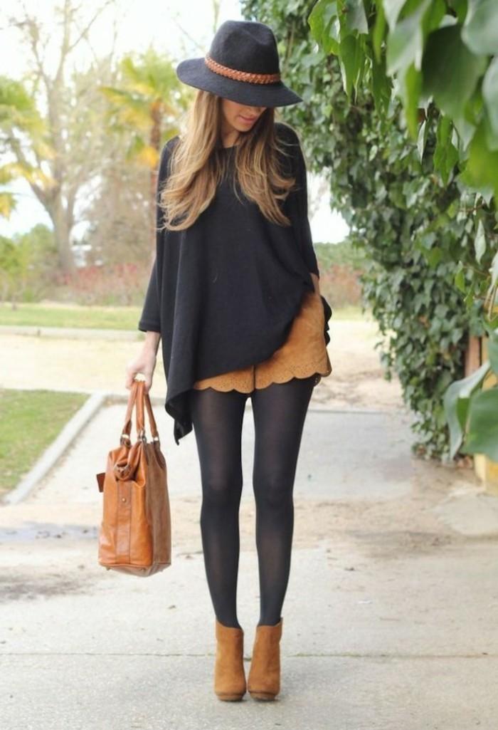 porter-bottines-chelsea-femme-bottine-en-cuir-noir-beige
