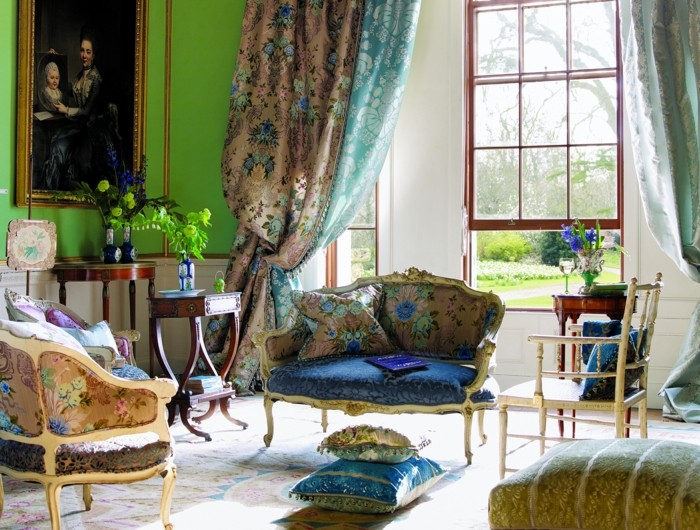 La chambre style baroque - nos propositions en photos!
