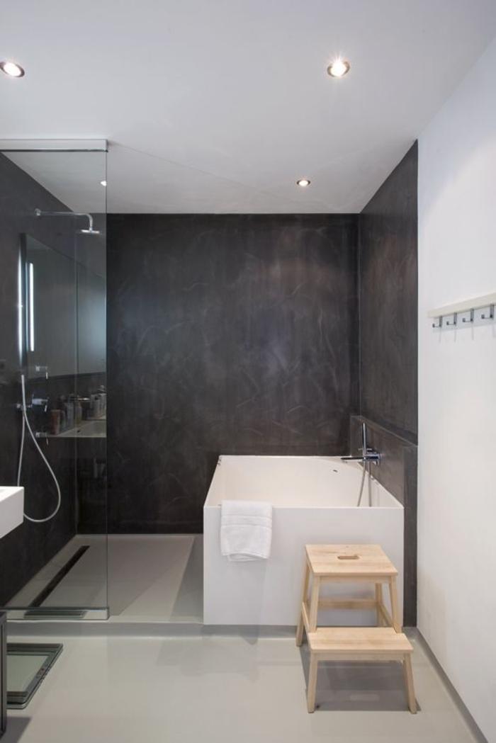 Relooker une salle de bain 42 id es en photos - Une salle de bain com ...