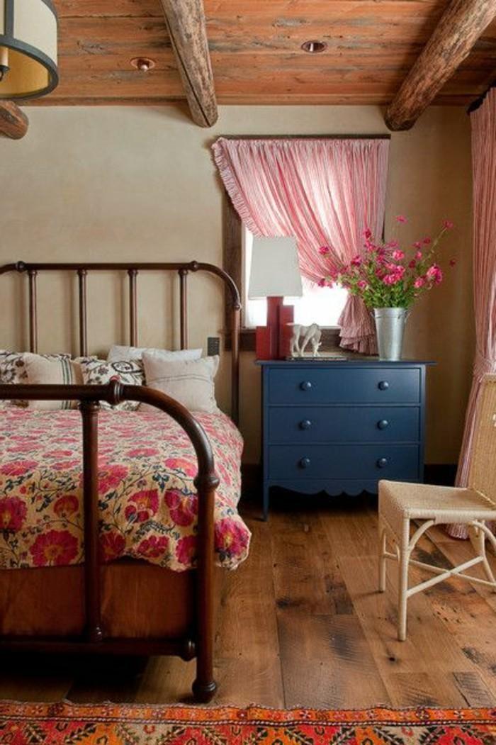romantique-chambre-à-coucher-avec-parure-de-lit-160x200-parure-de-lit-2-personnes-pas-cher-couette-en-solde