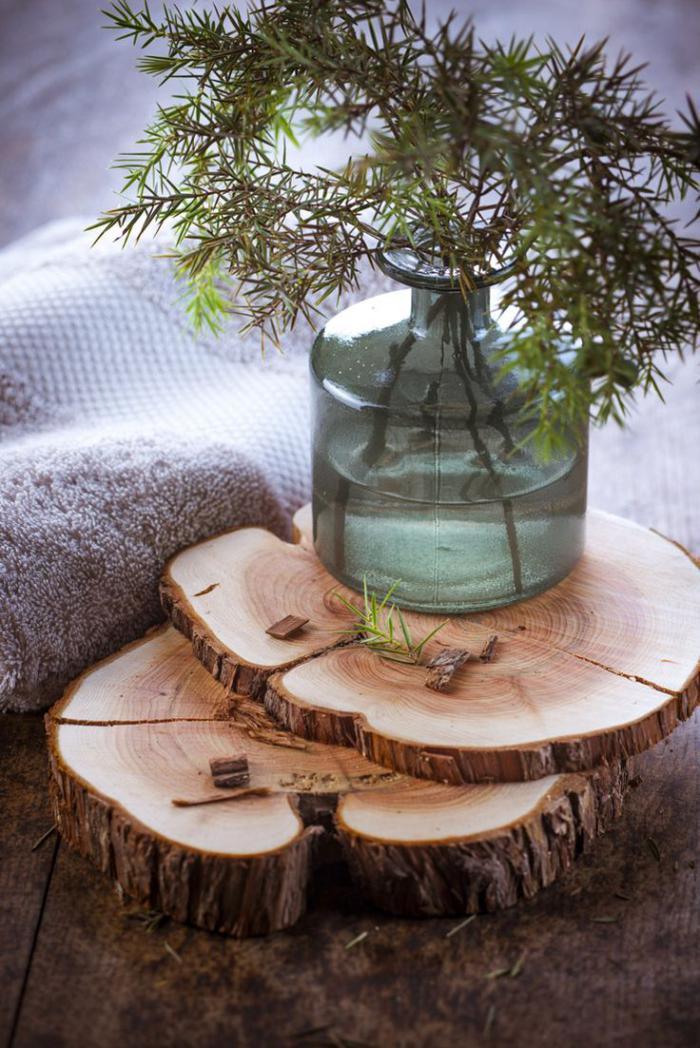 Que faire avec un rondin de bois id es en photos - Deco avec rondin de bois ...