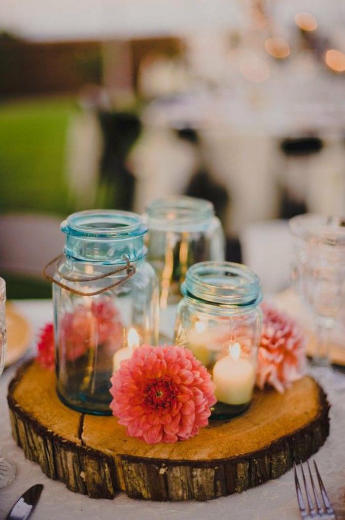 rondin-de-bois-décoration-de-mariages-rustique