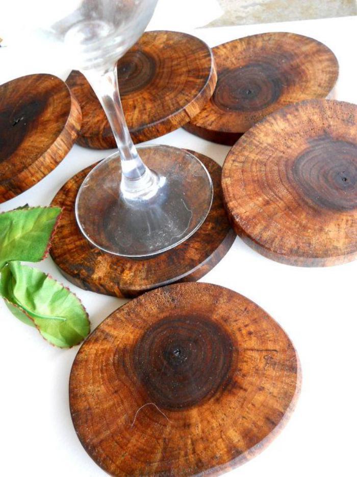 Extrêmement Que faire avec un rondin de bois - idées en photos - Archzine.fr NV86