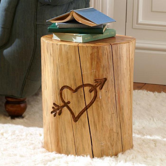 rondin-de-bois-petie-table-tronc-bois-naturel