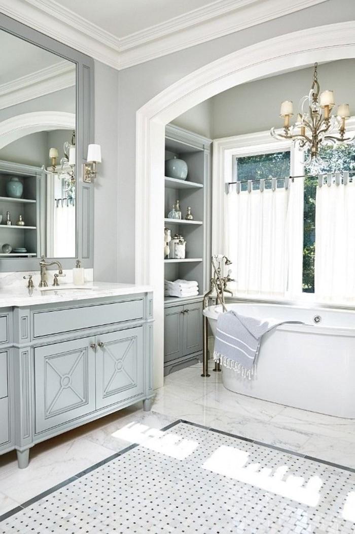 Mille id es d am nagement salle de bain en photos - Meuble de salle de bain style baroque ...