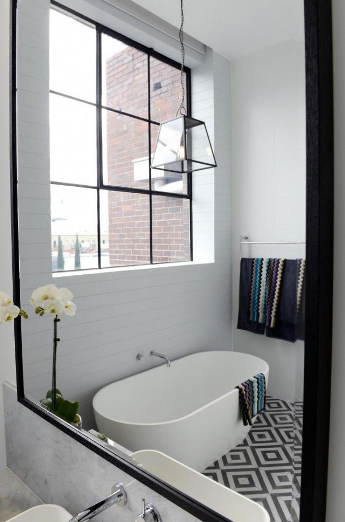Baignoire scandinave meuble double vasque de design for Salle de bain komodo